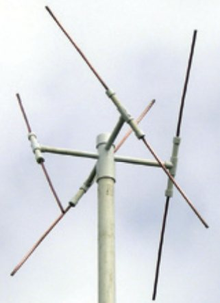 Double Cross Antenna (Source: http://www.rtl-sdr.com/ )